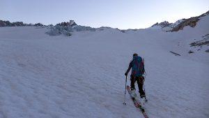 Zustieg Rhonegletscher