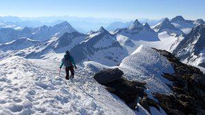 Gipfel Gross Muttenhorn