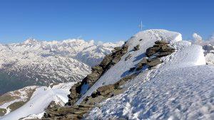 Finsteraarhorn, Gipfel Gross Muttenhorn