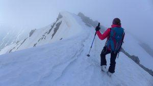 Abstieg Klein Furkahorn