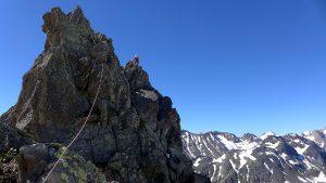 Abstieg Turm 1 Pizzo Nero Südgrat