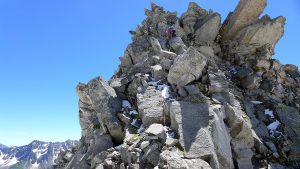 Abstieg Turm 3 Pizzo Nero Südgrat