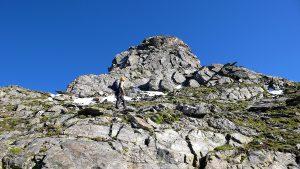 Aufstieg Turm 1 Pizzo Nero Südgrat