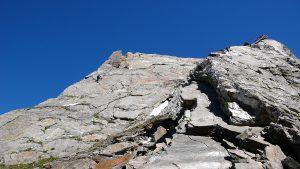 Aufstieg Turm 2 Pizzo Nero Südgrat