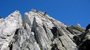 Aufstieg Turm 3 Pizzo Nero Südgrat