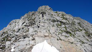 Aufstieg Turm 4 Pizzo Nero Südgrat