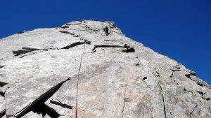 Aufstieg Turm 5 Pizzo Nero Südgrat