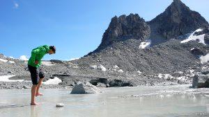 Treibsand-Ebene Tiefenbachgletscher, Chli Bielenhorn